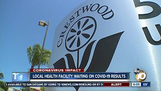 San Diego health facility waiting on COVID-19 results