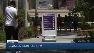 Classes start at FSW