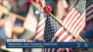 Tucson Memorial Day parade, ceremony canceled due to coronavirus concerns
