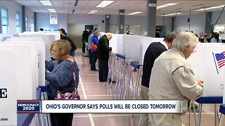 Governor says polls are public health threat, health director orders them closed