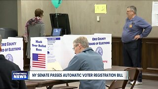 State Senate passes revised bill that would automatically register voters