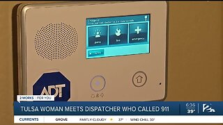 Tulsa Woman Meets Dispatcher Who Called 911