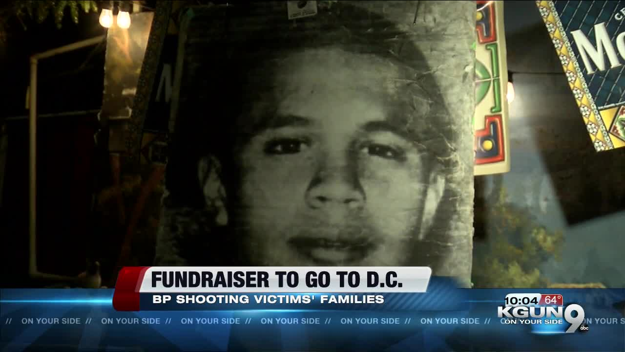 Fundraiser held for victims families shot by Border Patrol agent