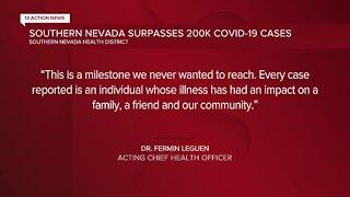 Clark County surpasses 200,000 COVID-19 cases