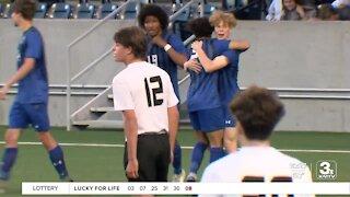 Class B Boys' State Soccer Quarterfinals 5/13/21