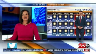 23ABC Evening weather update August 24, 2020