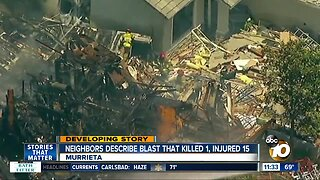 Investigation continues into Murrieta house explosion