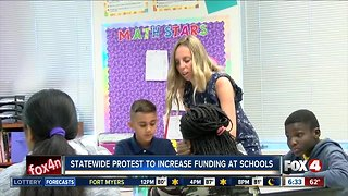 Statewide protest to increase public school funding