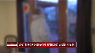 What being in quarantine means for mental health