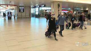 Airports expecting smaller crowds for holiday travel