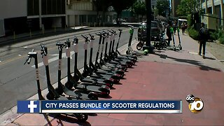 San Diego City Council passes scooter regulation package