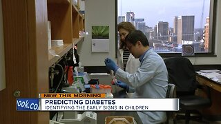 Predicting diabetes: identifying the early signs in children