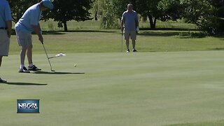 Special Olympics compete in Northern State Golf Tournament
