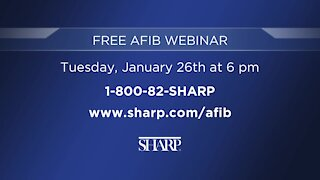 Learn About Sharp Memorial Hospital's AFib Seminar on January 26th