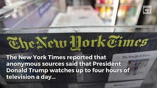 Trump's Morning Routine Reported