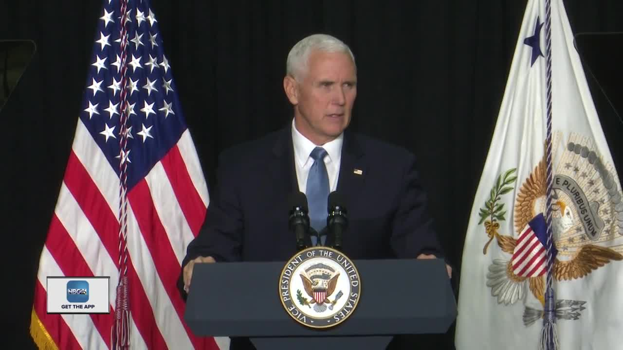 Vice President Pence visits Northeast Wisconsin