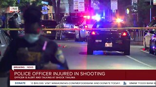 Baltimore Police investigating Federal Hill shooting that injured officer