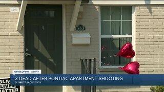3 dead after Pontiac apartment shooting