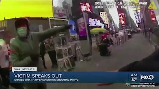 Person of interest identified in connection with Sunday's shooting at Times Square
