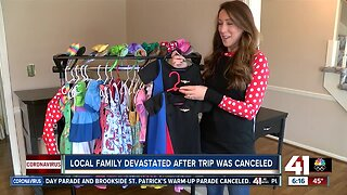 Family planning Disney trip forced to cancel at the last minute