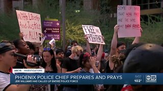 Phoenix Police Chief reflects on weekend of peaceful protests and destruction