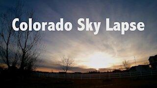Colorado Sky Lapse