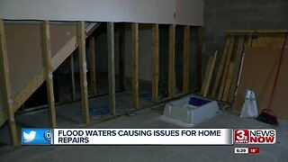 Flood Waters Causing Issues for Home Repairs