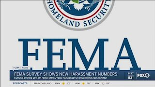 FEMA survey shows harassment increase in work