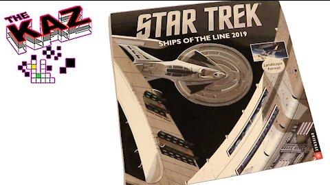 2019 Star Trek Ships of the Line calendar