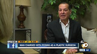 Man charges with posing as a plastic surgeon