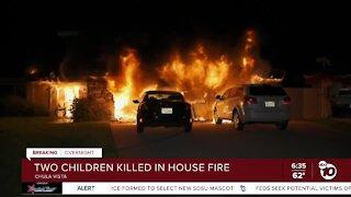 2 kids die in Chula Vista house fire