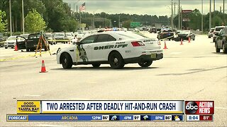 Couple arrested after running red light, killing motorcyclist then stealing car