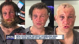 Homeless man assaulted in Detroit gets new opportunities with local nonprofit