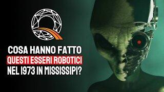 🤖 Cosa hanno fatto questi esseri robotici nel 1973 in Mississipi?