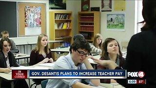 Governor DeSantis plans to increase teachers pay