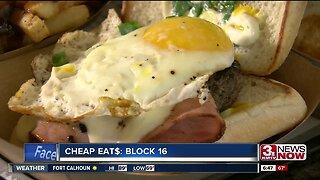 CHEAP EAT$: Block 16