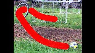 Real life trick shots - soccer