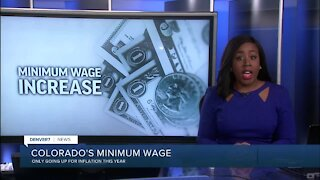 Denver's minimum wage rate increases on Friday to $14.77 per hour