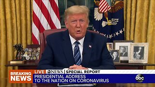 Special Report: President Trump addresses the nation on the government's response to the COVID-19 pandemic