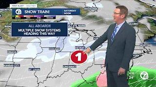 Snow expected Saturday