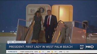 President Trump in West Palm Beach