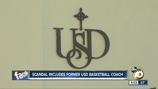 USD names former coach in college admissions scandal