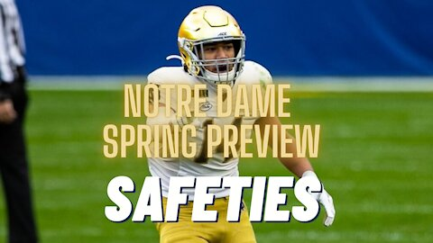 Notre Dame has significant questions at safety heading into spring ball
