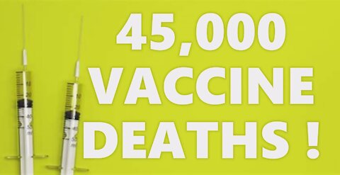 BREAKING! 45,000 Vaccine Deaths! Whistleblower Expert Insider Testimony! People Need To Go To Jail!