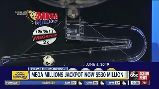 Mega Millions jackpot grows to $530 million for June 7 drawing