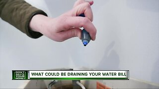 What could be draining your water bill?