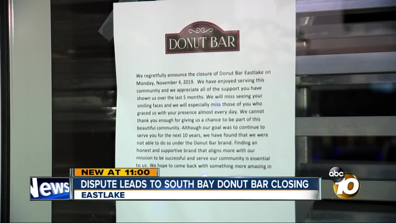 Eastlake Donut Bar abruptly closes months after opening