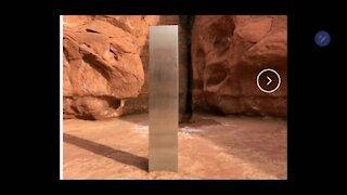 Strange: Metal Structure Found in UT Desert