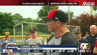 Turner Ward visits little league team in Aurora