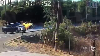 Video of fiery crash along Campo Road leads to calls for safety measures